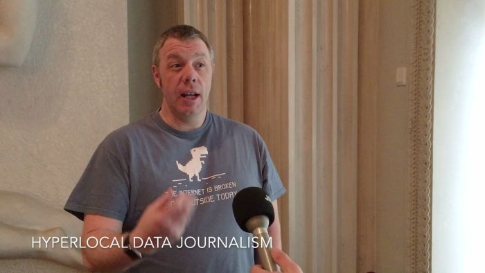 Hyperlocal data journalism: Andy Dickinson interview