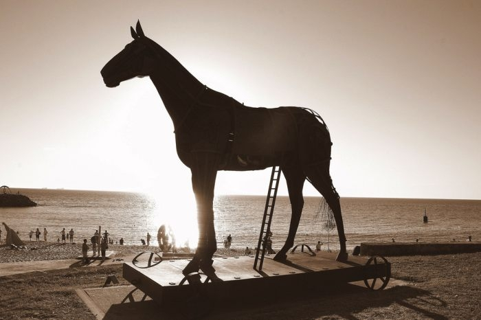 Picture: Horse. Possibly Trojan! by Tama Leaver, license CC BY 2.0