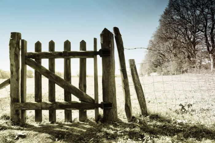 Picture: gate by peter castleton, license CC BY 2.0
