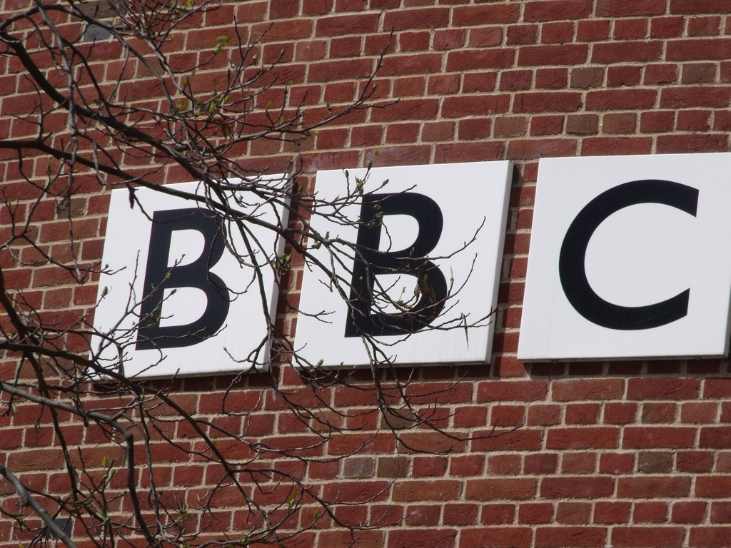 BBC East - Norwich - sign by Elliott Brown, licence CC BY 2.0