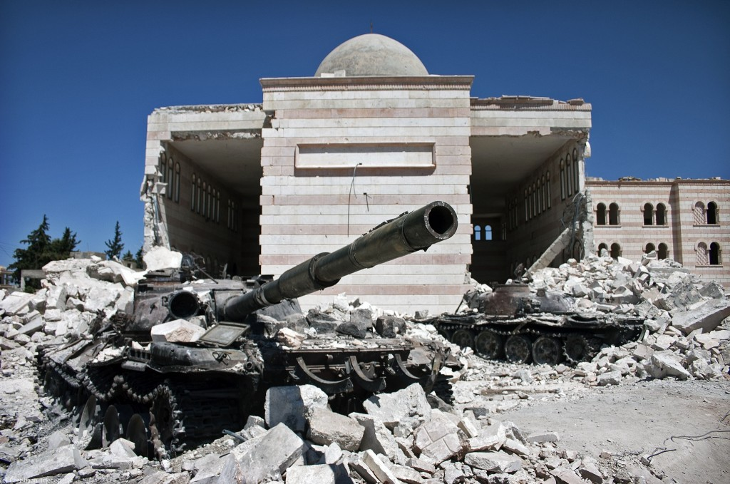 Azaz, Syria by Christiaan Triebert, licence CC BY-NC 2.0