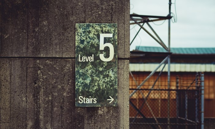 Picture: Level 5 by Alex Grodkiewicz, license CC0 1.0.