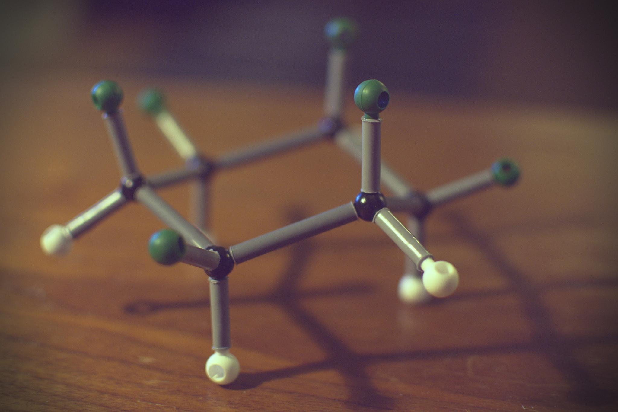 Picture: Cyclohexane by Hanna Sörensson, licence: CC BY-SA 2.0