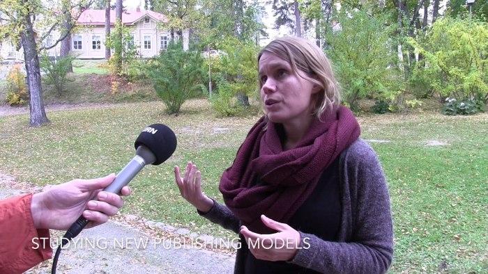 Hanna Nikkanen JRN video interview