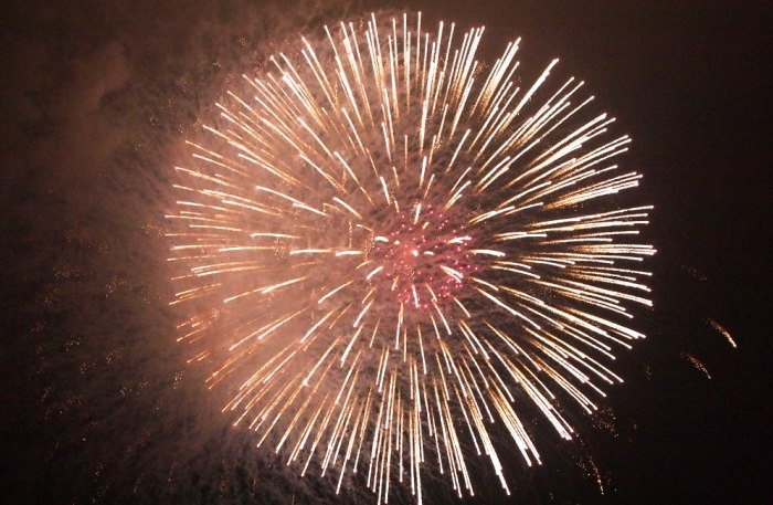 Picture: Fireworks by f99aq8ove, license CC BY-SA 2.0, cropped