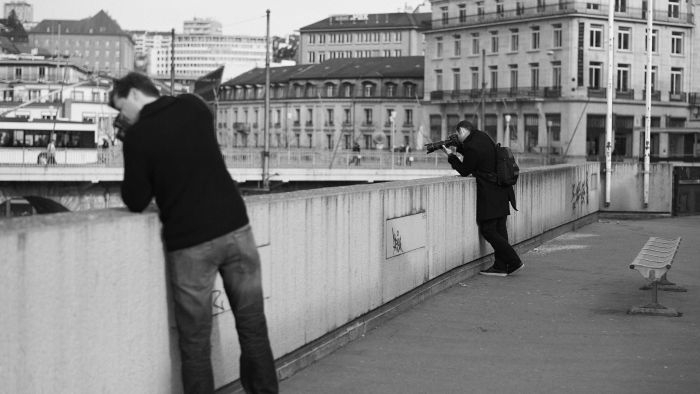 Two Photographers by Del-Uks, licence CC BY-NC-ND 2.0