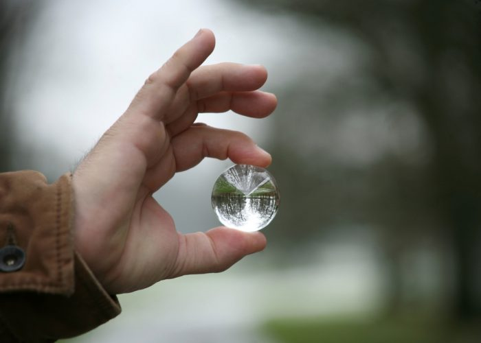 Hackwood Park through the Crystal Ball by Jlhopgood, licence: CC BY-ND 2.0