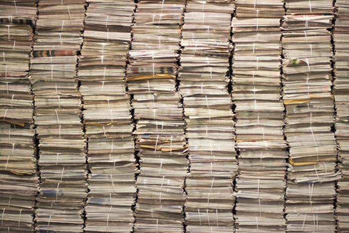 Newspapers by iwishmynamewasmarsha, licence CC BY-NC 2.0