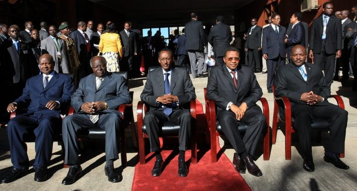Picture: East African Community Head of States by nukta77, license CC BY-SA 2.0