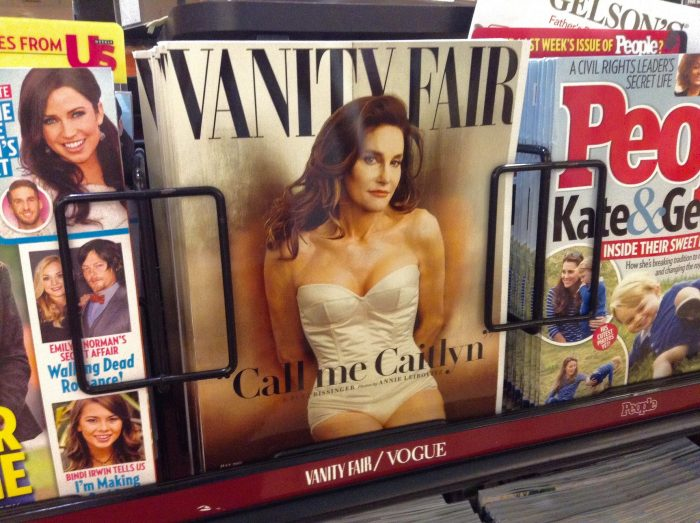 Caitlyn Jenner, Formerly Bruce Jenner, Vanity Fair Cover by Mike Mozart, licence CC BY 2.0