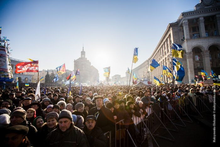 Anti-government protests in Kiev by Sasha Maksymenko, licence: CC BY 2.0