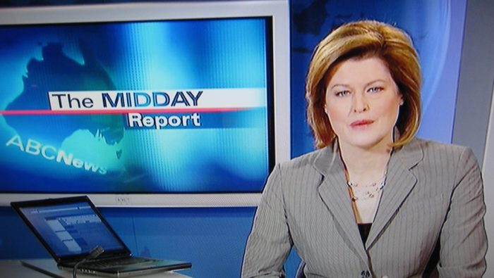 THE MIDDAY REPORT by RubyGoes, licence CC BY 2.0