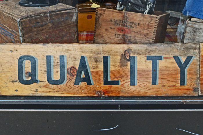 quality by Jason Taellious, licence: CC BY-SA 2.0