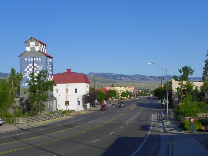 Early Morning in Lander, Wyoming by J. Stephen Conn, licence CC BY-NC 2.0