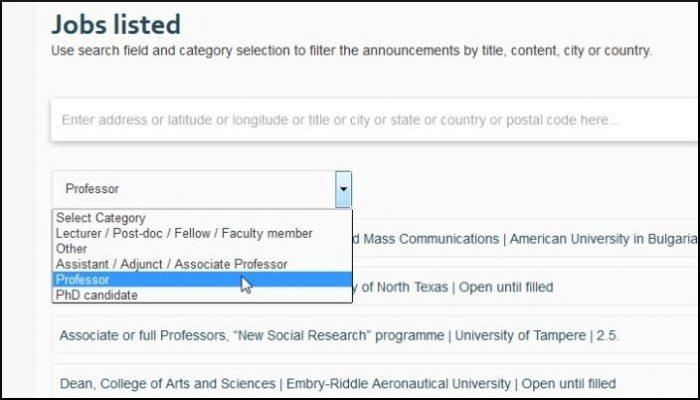 JRN academic jobs