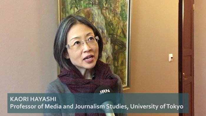 Newspapers in Japan and the role of personal contact - Kaori Hayashi interview