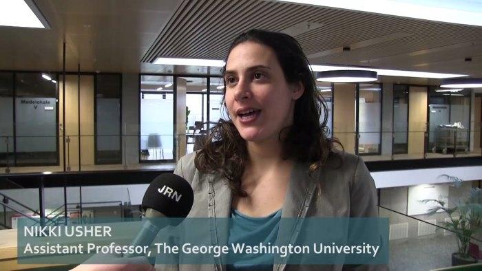 Post-industrial journalism in metropolitan newsrooms - Nikki Usher interview