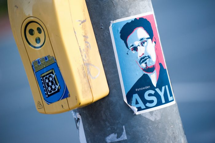 Snowden in Bochum by Maik Meid, licence: CC BY-SA 2.0