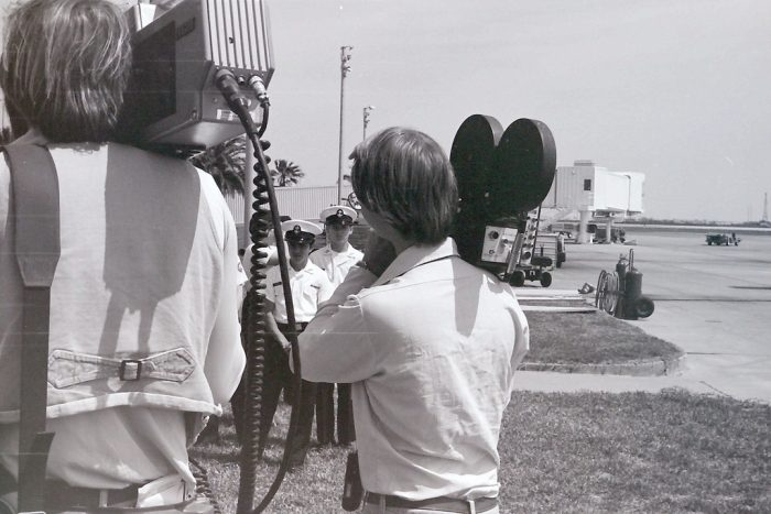 TV News Photographers - 1976 by Jay Phagan, licence: CC BY 2.0