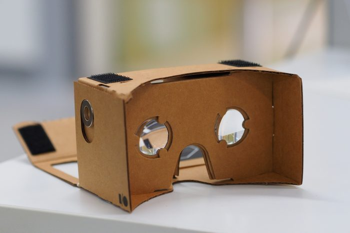 Google Cardboard by othree, licence: CC BY 2.0