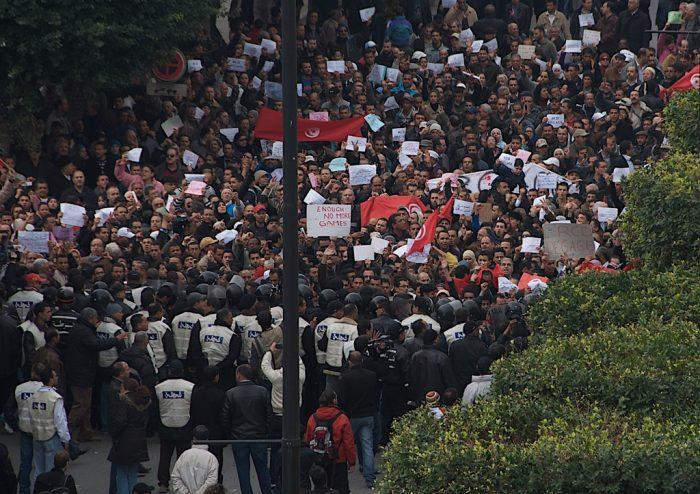 Tunisian Revolution -Jan20 DSC_5305 by Chris Belsten, licence: CC BY 2.0