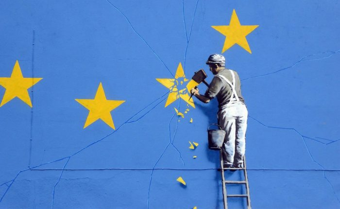 Picture: Banksy does Brexit (detail), by Duncan Hull, license CC BY 2.0