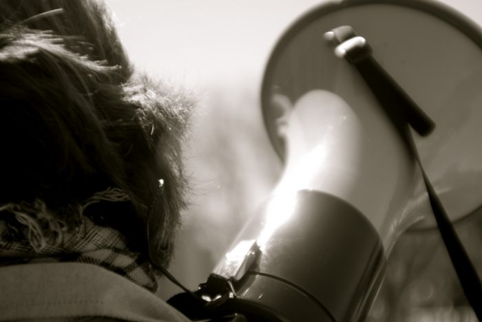Megaphone by Ashley Adcox, licence CC BY-NC-ND 2.0