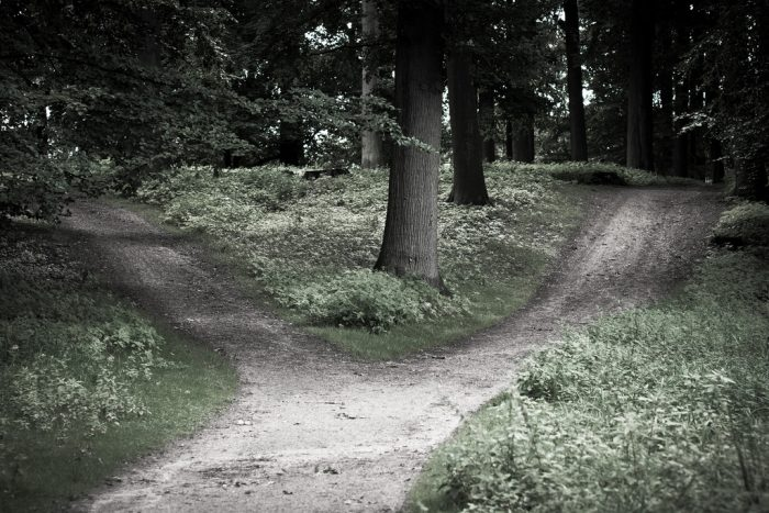 Picture: crossroads by Carsten Tolkmit, license CC BY-SA 2.0