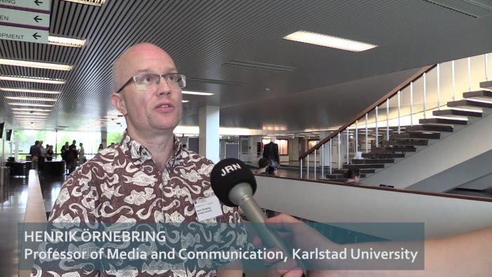 Henrik Örnebring interview