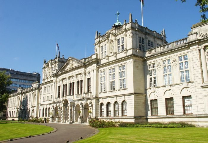 Picture: The main building of Cardiff University by Stan Zurek, public domain