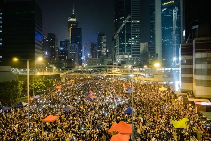 Picture: Hong Kong's Umbrella Revolution by Studio Incendo, license CC BY 2.0
