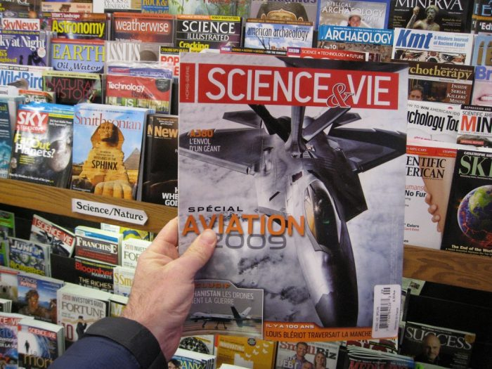 Science et Vie by brewbooks, licence CC BY-SA 2.0