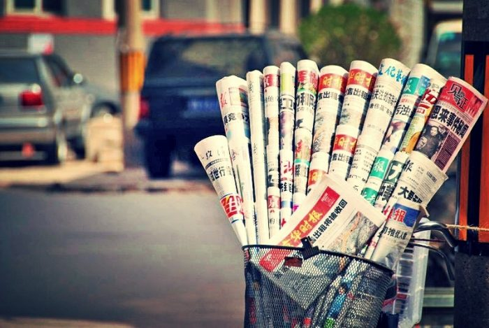 News papers? by faungg's photos, licence: CC BY-ND 2.0