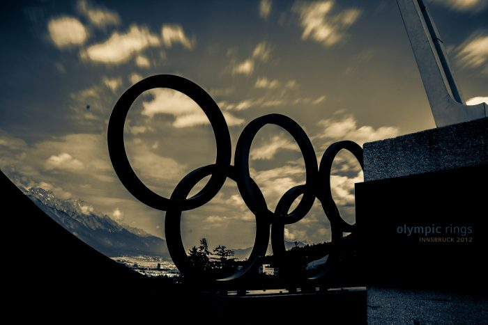 olympic rings by Benno Kress, licence: CC BY-ND 2.0