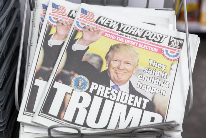 ew York Post: President Trump by Marco Verch, licence: CC BY 2.0