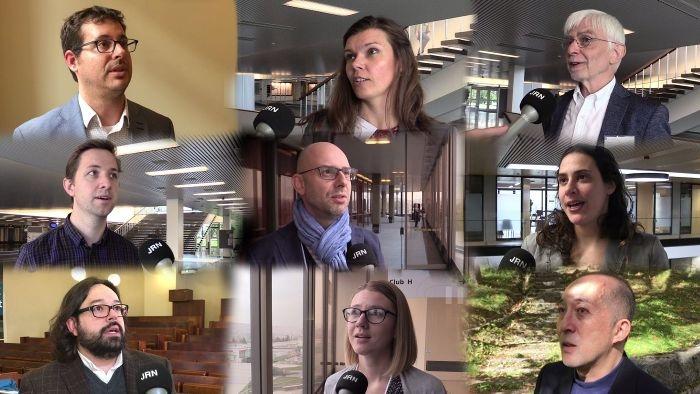 Journalism Research News video interviews