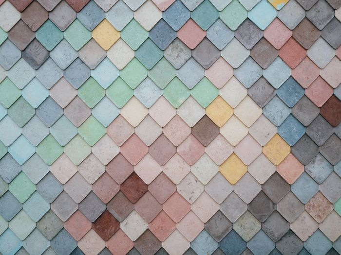 Picture: Tile pattern pastel by Andrew Ridley, license CC0 1.0