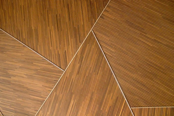 Picture: Geometric wood pattern by Teo Duldulao, license CC0 1.0
