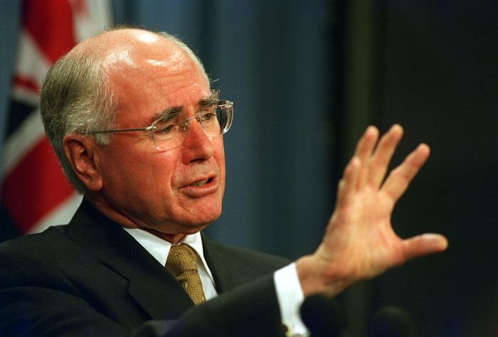 Picture: John Howard on 4 february 2003 by US Department of Defense, license CC0 1.0