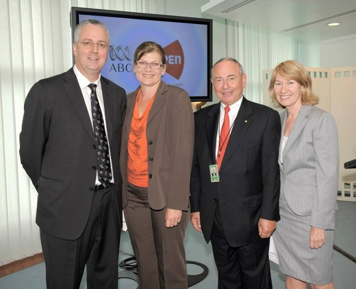 Picture: At the launch of ABC Open at Parliament House (4 Feb 2010) by Maxine McKew, license CC BY-NC-ND 2.0
