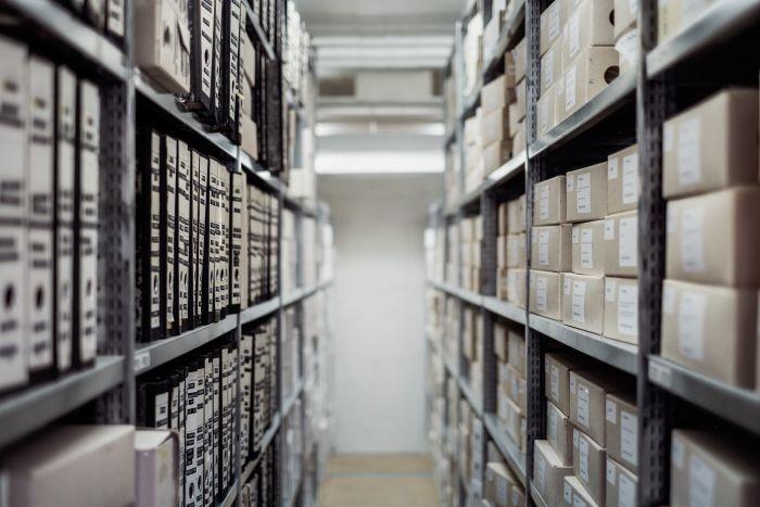 Picture: Archive storage by Samuel Zeller, license CC0 1.0