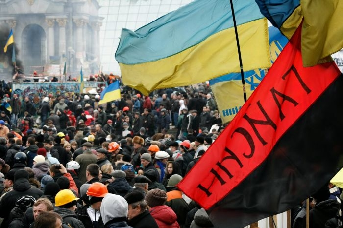 Picture: Euromaidan 19 February 9 by ВО Свобода, license CC BY 3.0