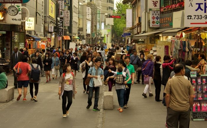 Picture: Insadong by Mario Sánchez Prada, license CC BY-SA 2.0, cropped