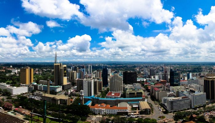 Picture: Nairobi skyline by Babak Fakhamzadeh, license CC BY-NC 2.0, cropped