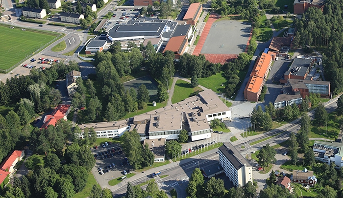 Image: Seminaarinmäki campus by Suomen Ilmakuva Oy / The University of Jyväskylä, all rights reserved
