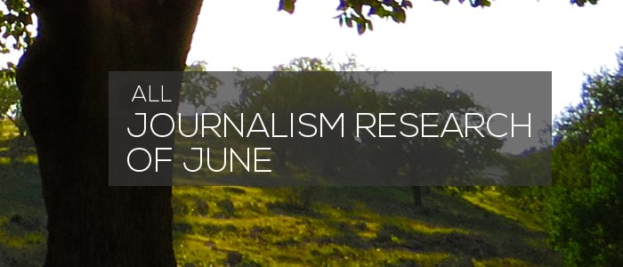 Journalism Research of June 2019