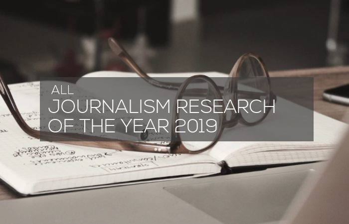 Journalism Research of 2019, image: https://unsplash.com/photos/3mt71MKGjQ0